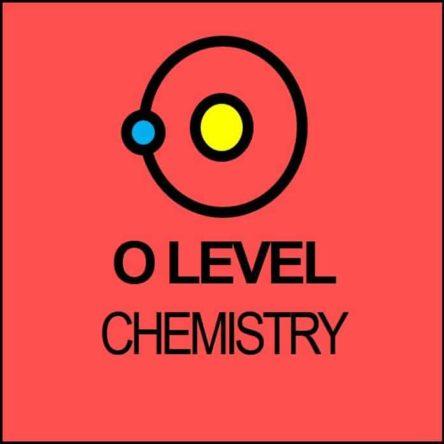 Chemistry O Level Syllabus