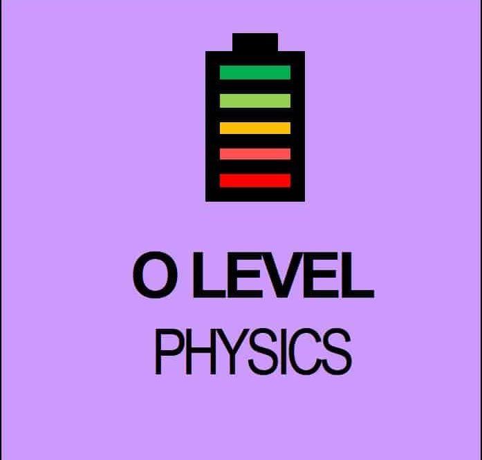 O Level Physics topics