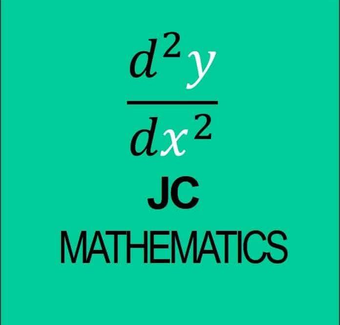 JC Mathematics topics