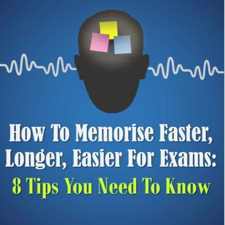 How Memorise Faster Longer Easier Exams