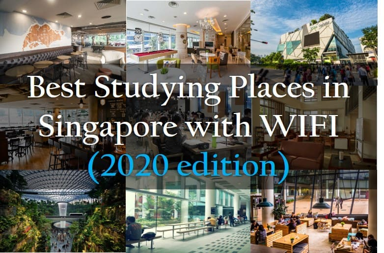 Best Studyin Places in Singapore with WIFI (2020 edition)
