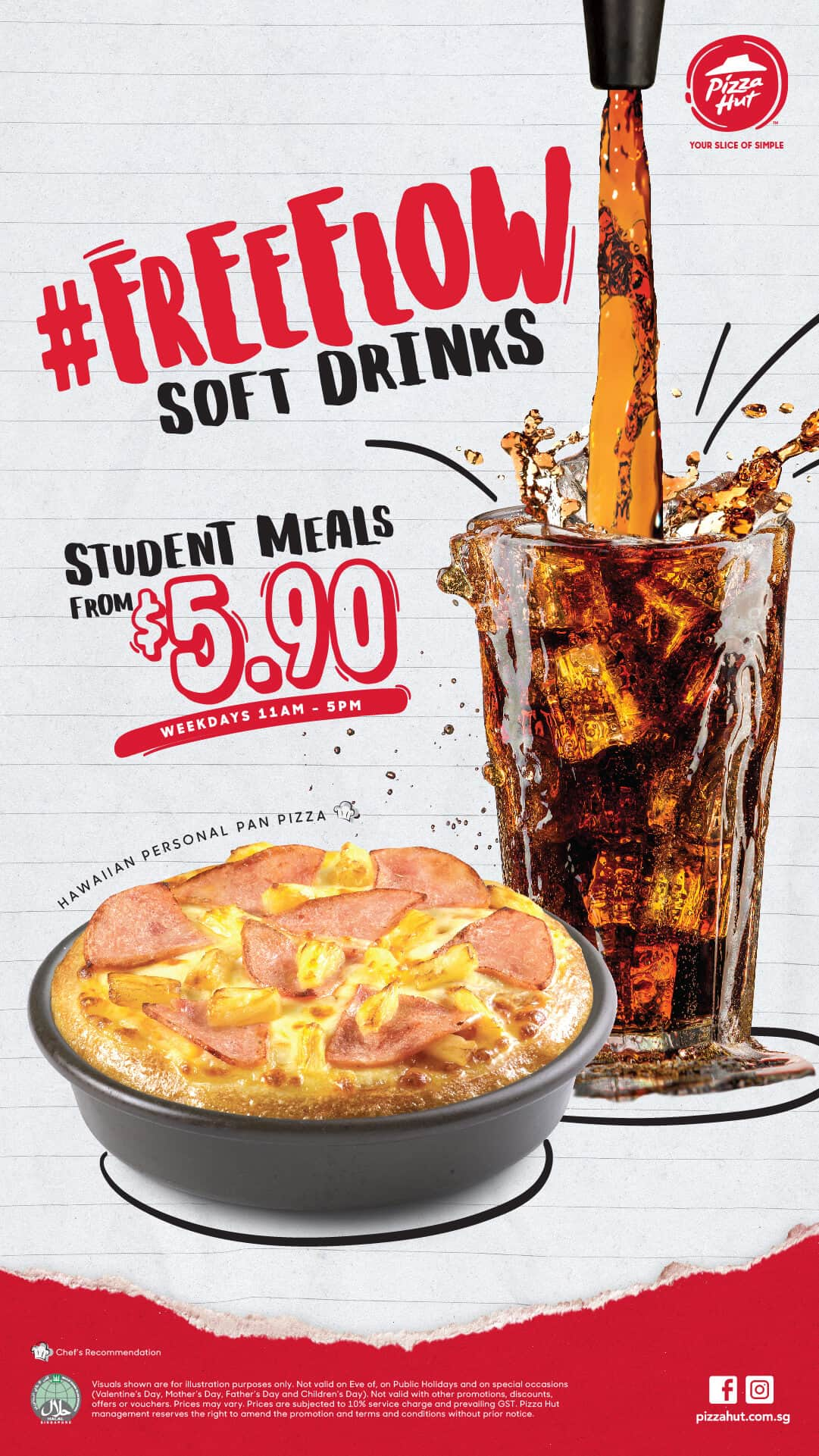 Pizza Hut Student Meal