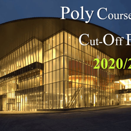 Poly Courses and Poly Cut Off Points 2020 2021