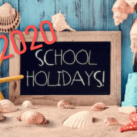School Holidays 2020