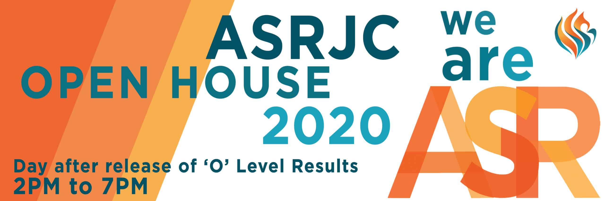 ASRJC Open House 2020