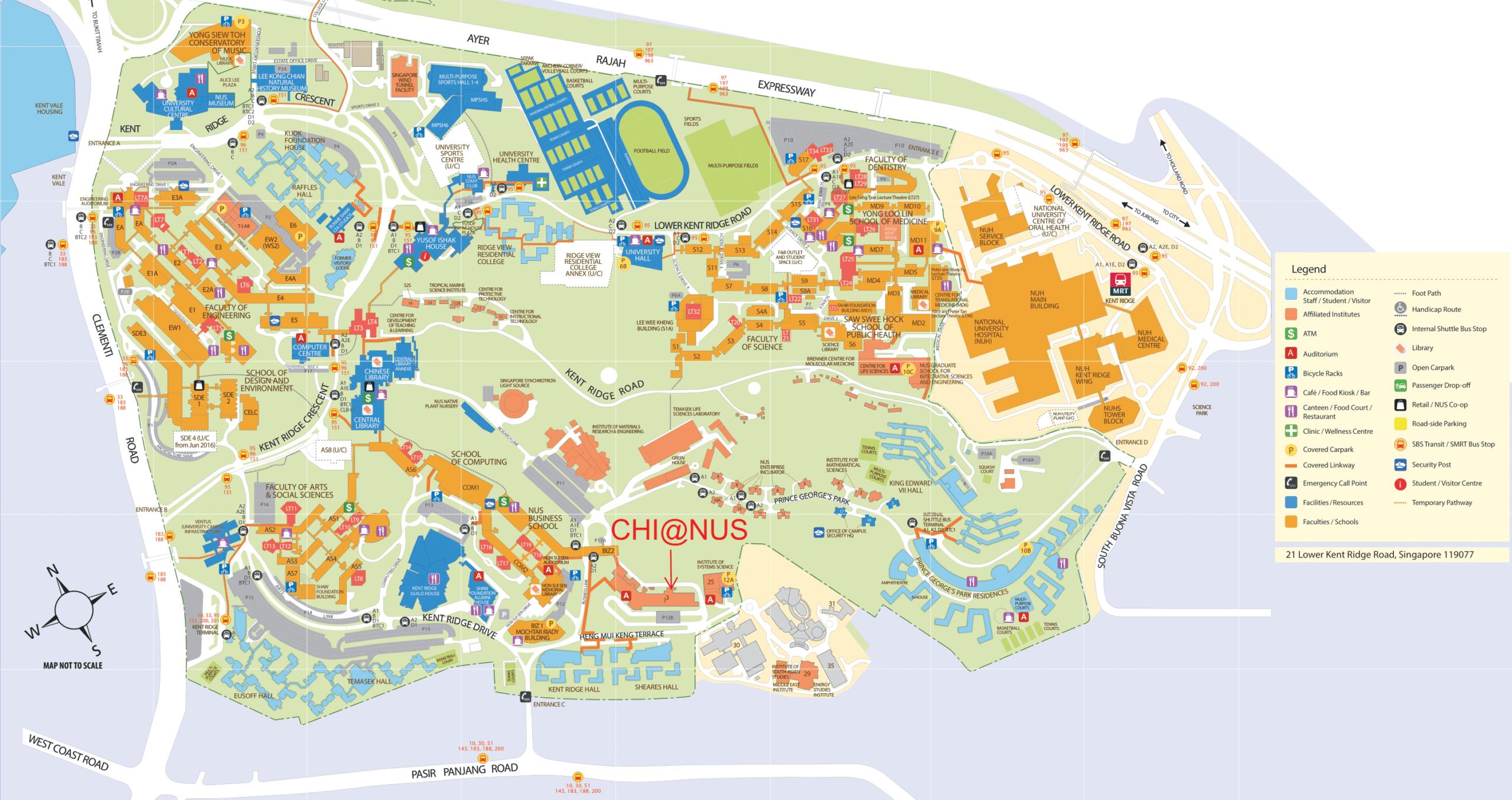 NUS Map