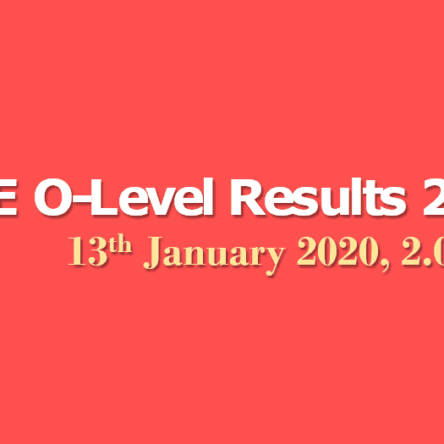 O Level Results 2020