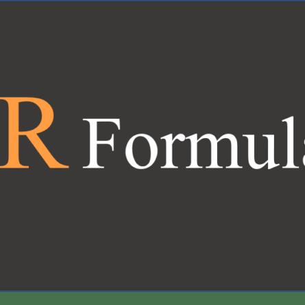 R Formula