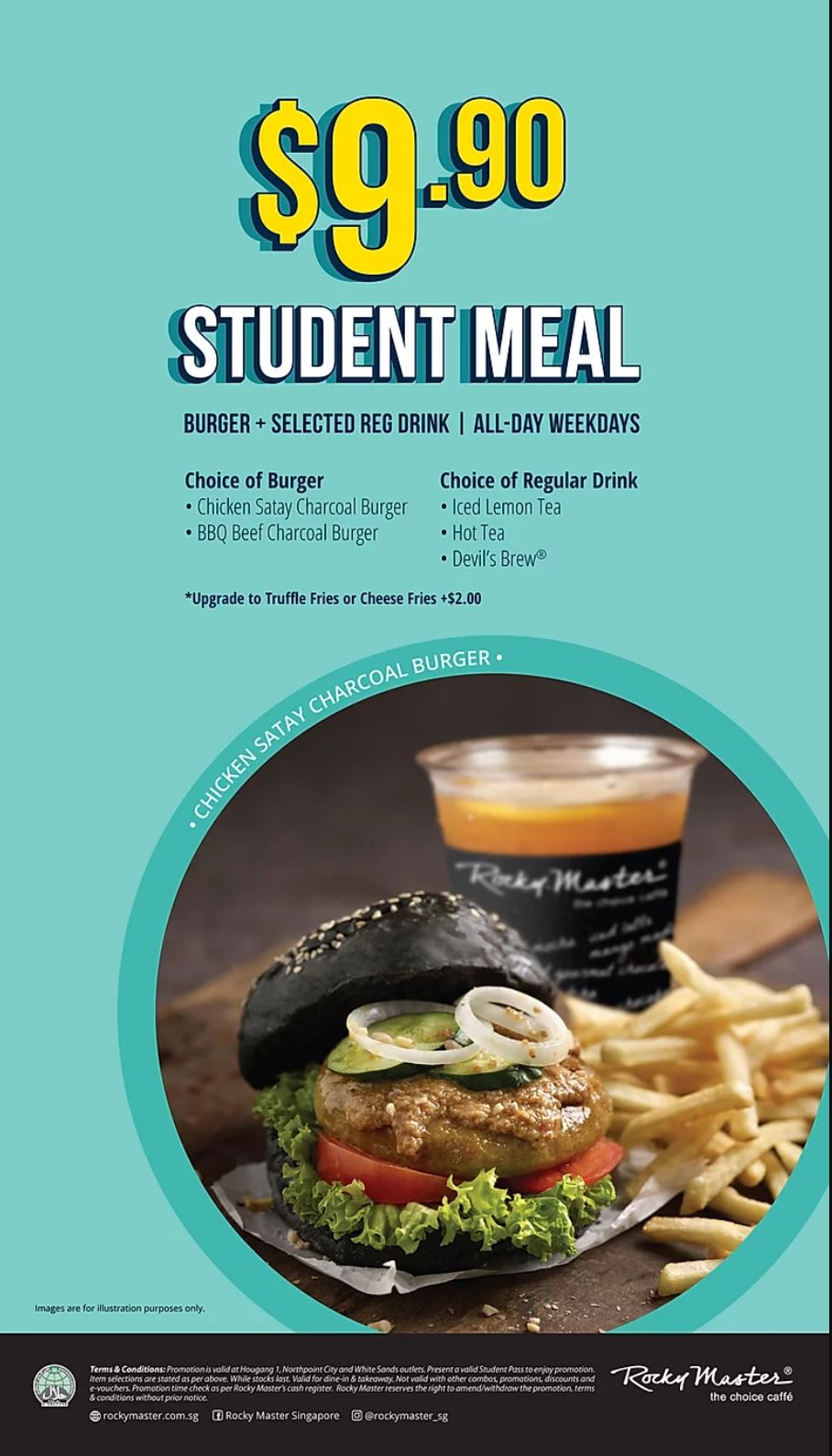 Rocky Master Student Meal