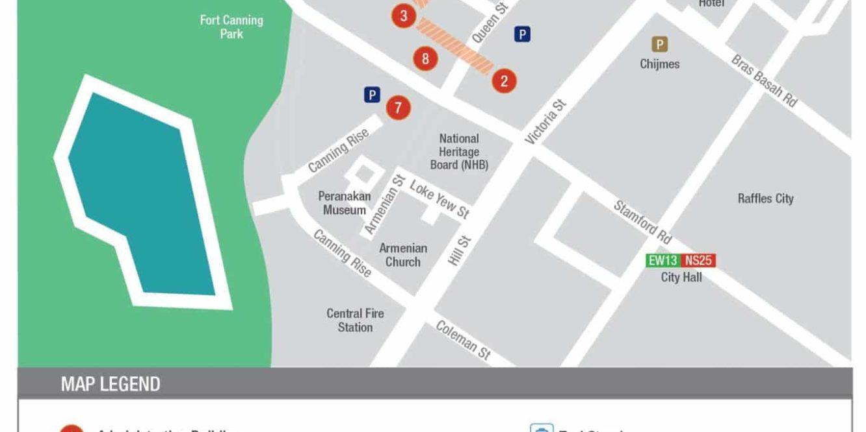 SMU Map