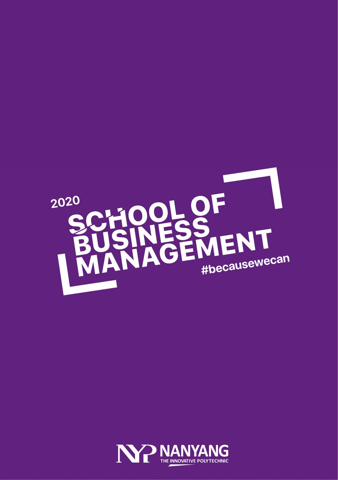 School of Business Management 2020-01