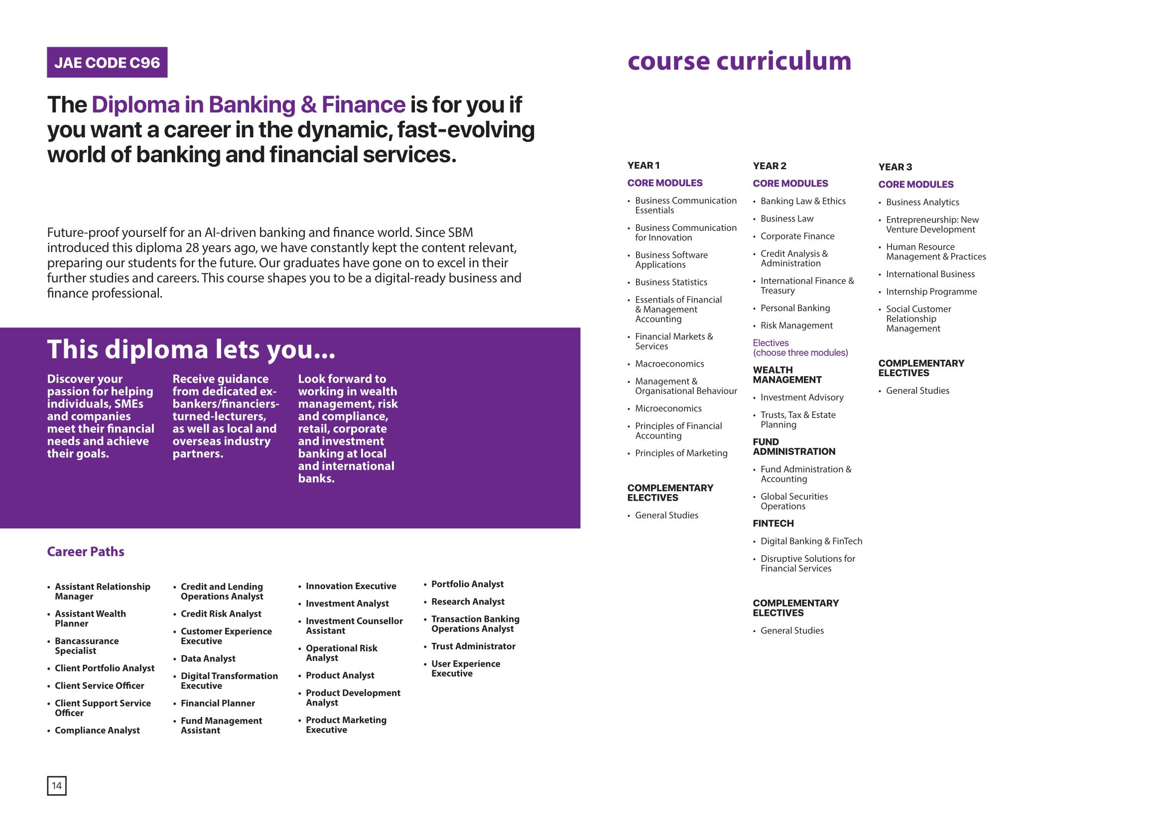 School of Business Management 2020-09