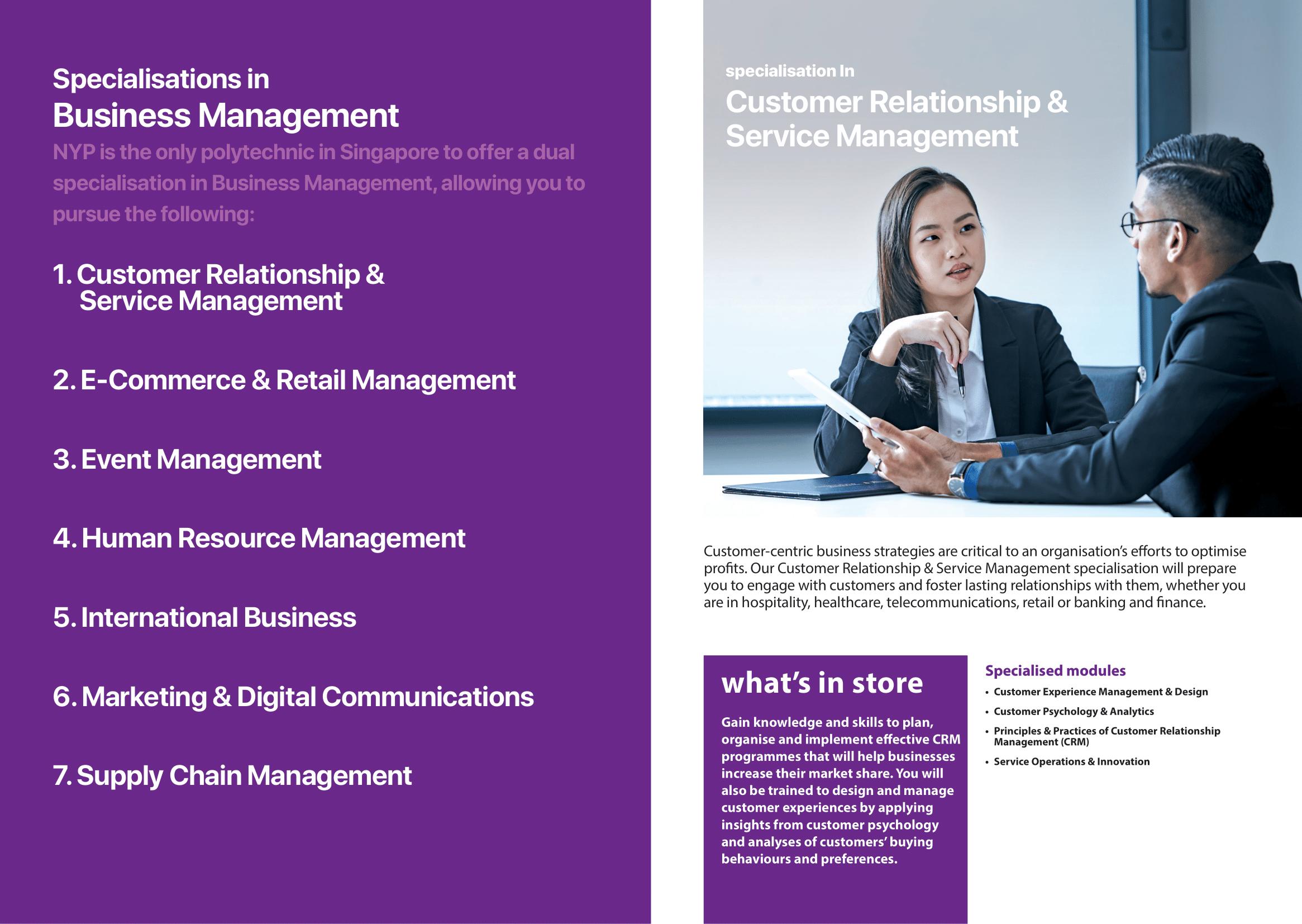 School of Business Management 2020-12