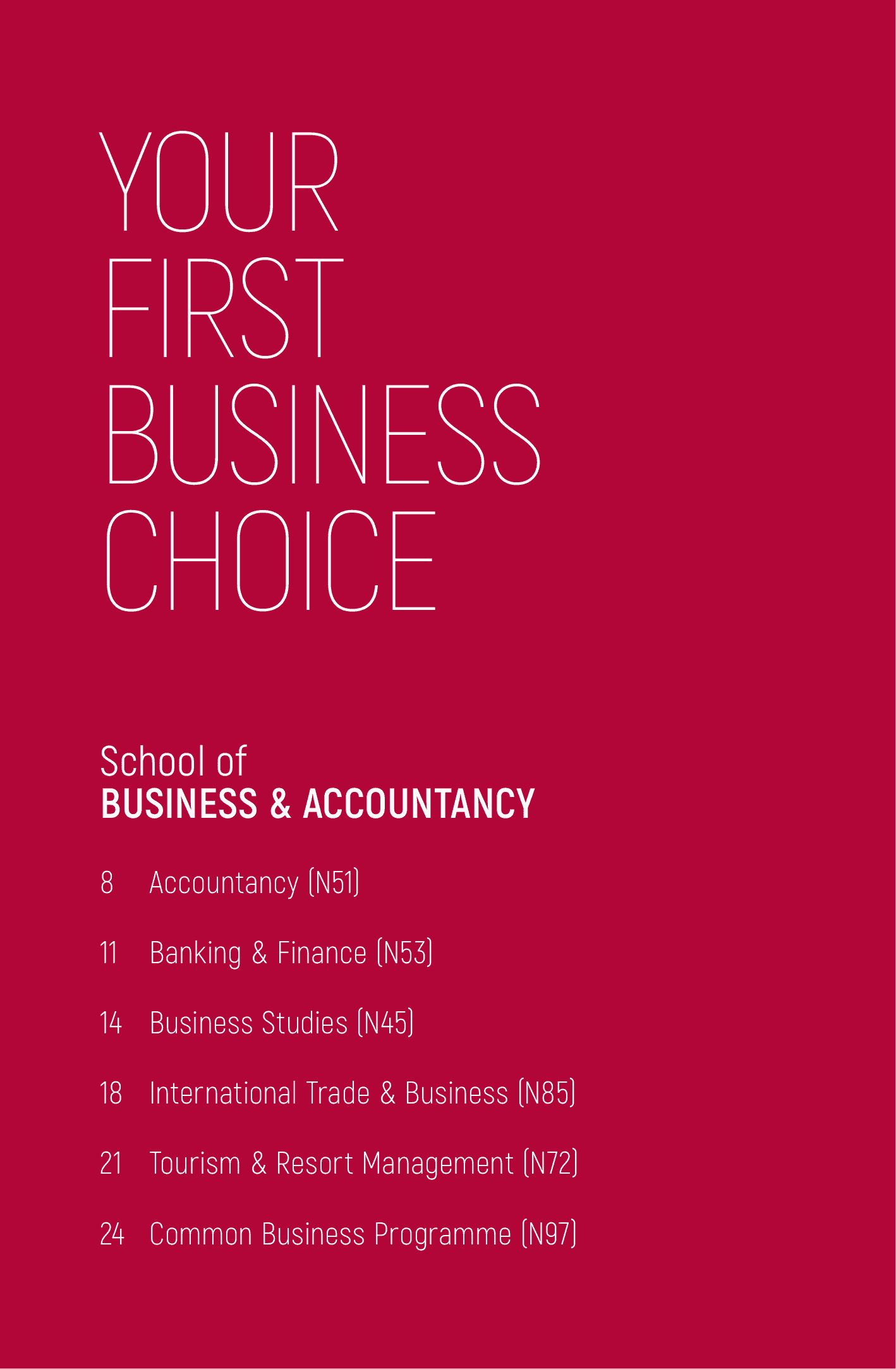 School of Business and Accountancy 2020-02