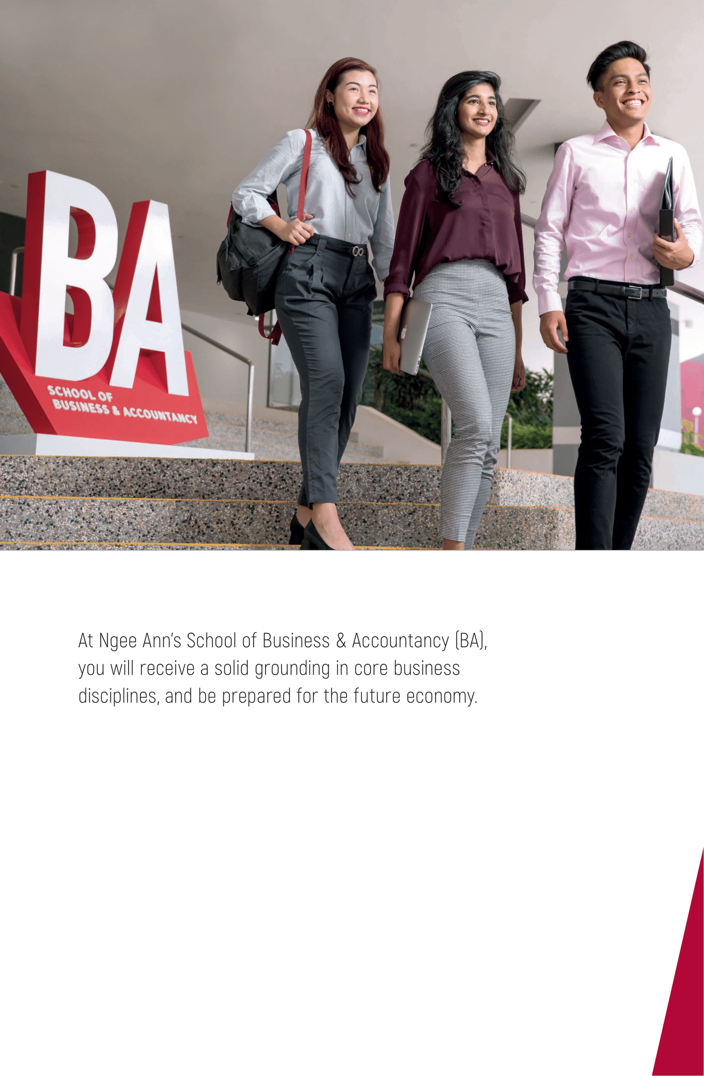 School of Business and Accountancy 2020-03