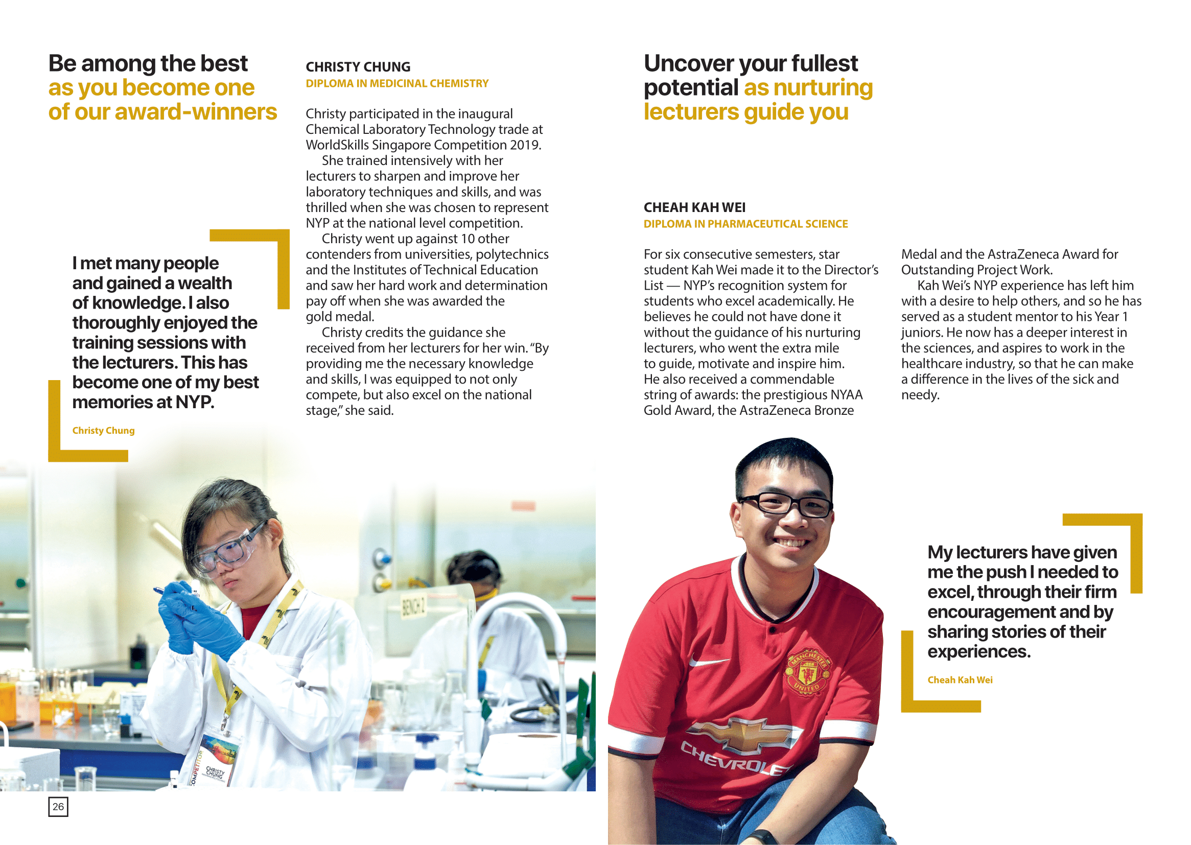 School of Chemical and Life Sciences 2020-15