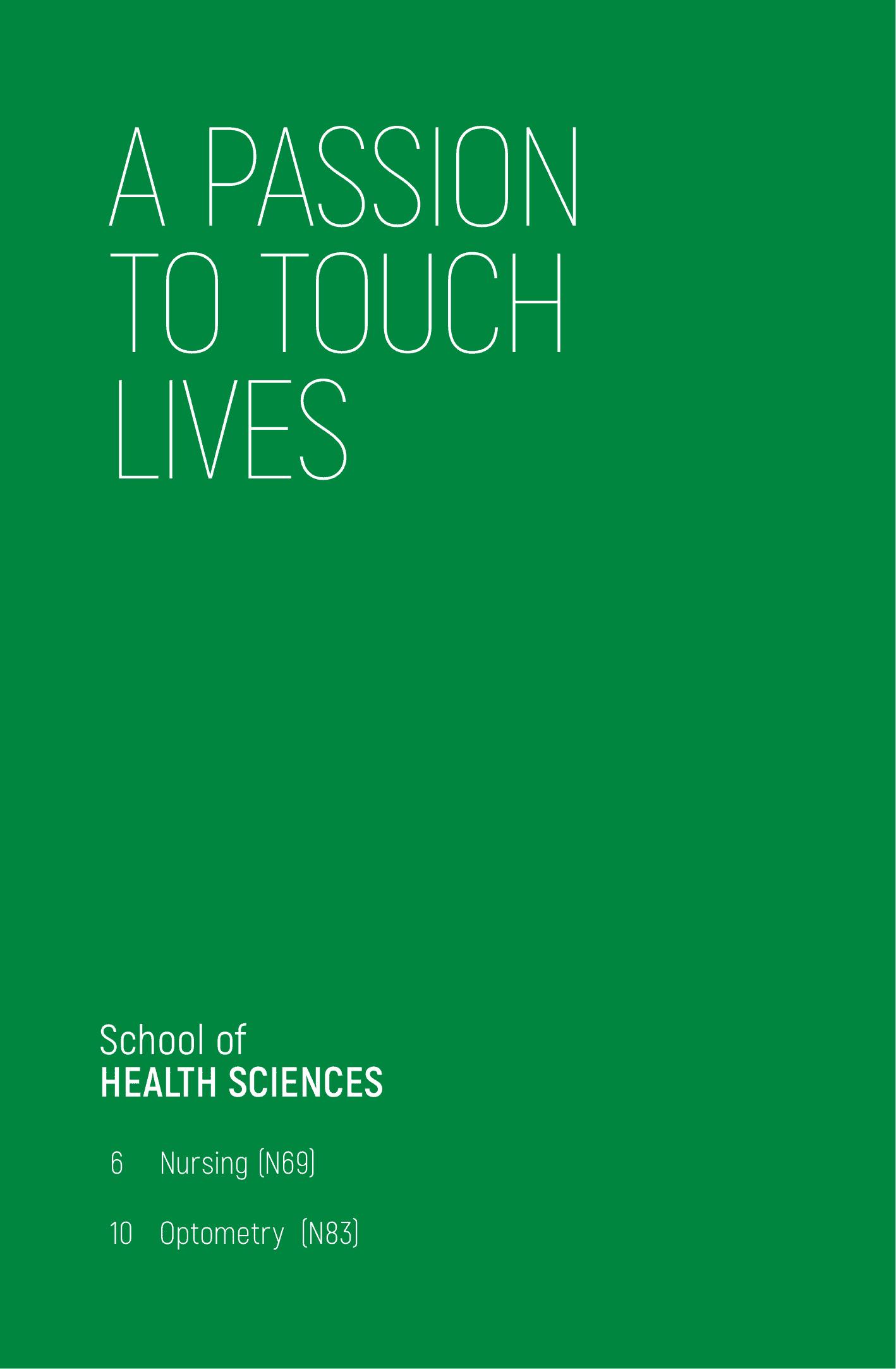 School of Health Sciences 2020-02