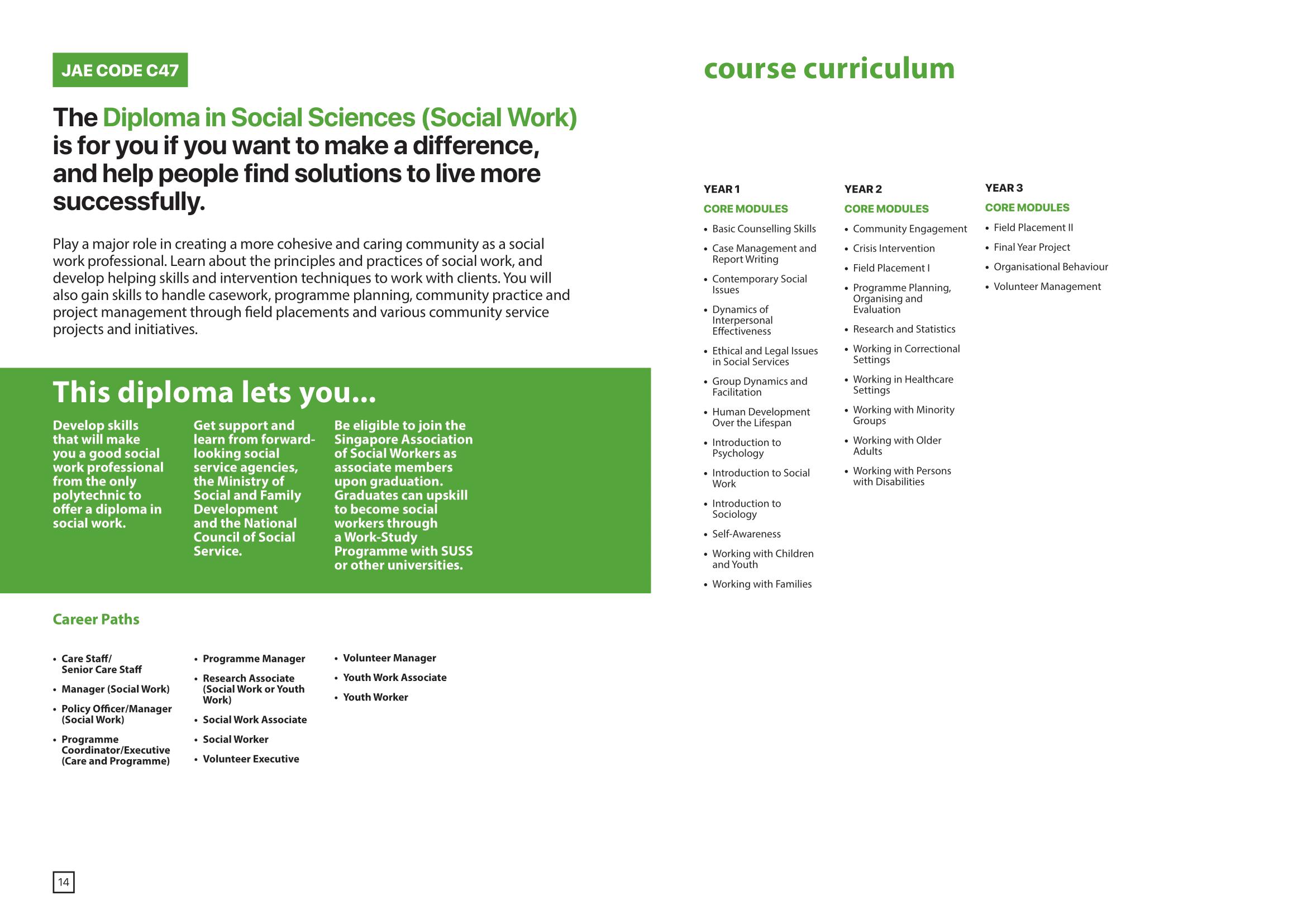 School of Health and Social Sciences 2020-09