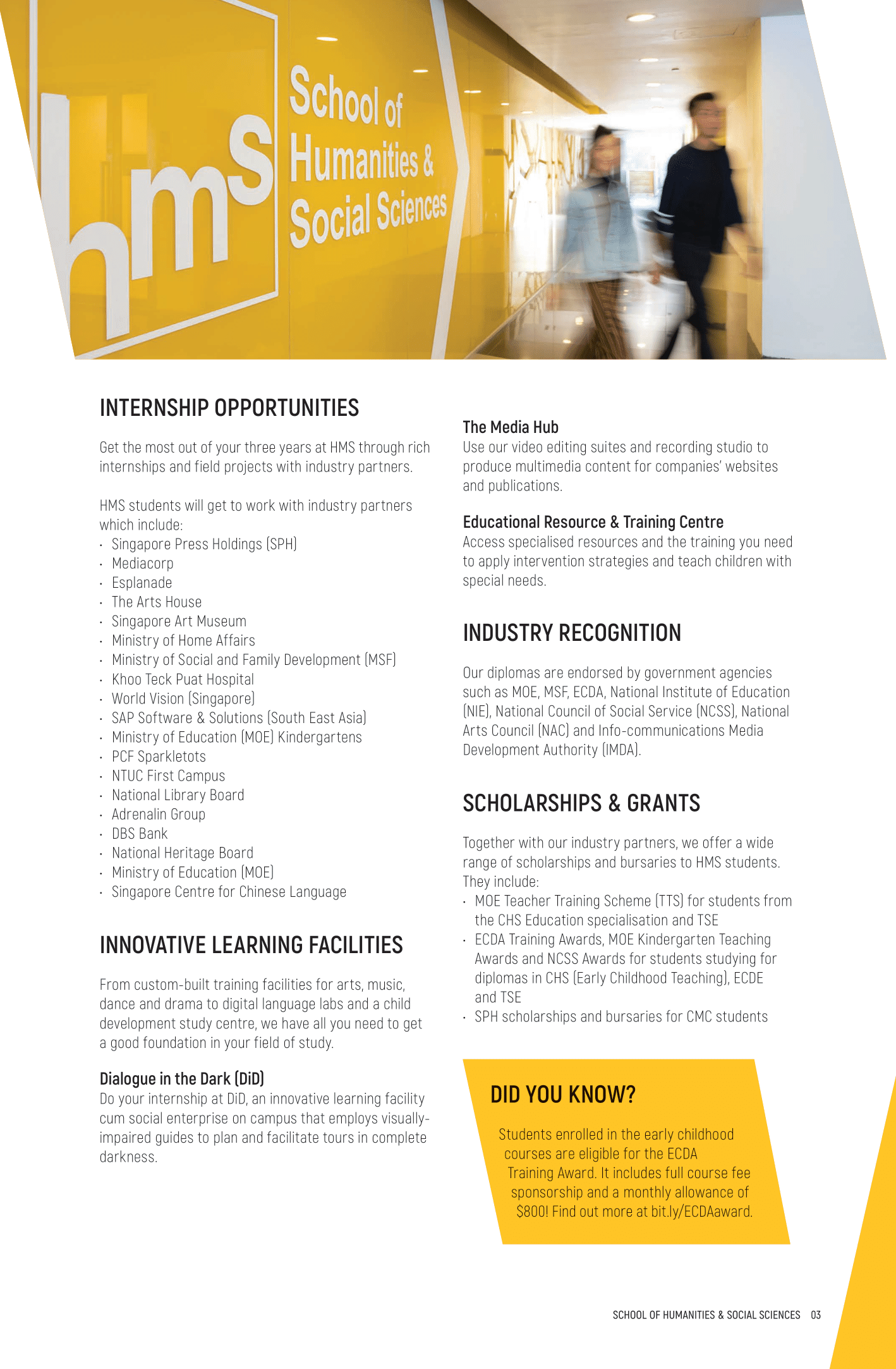 School of Humanities & Social Sciences 2020-05