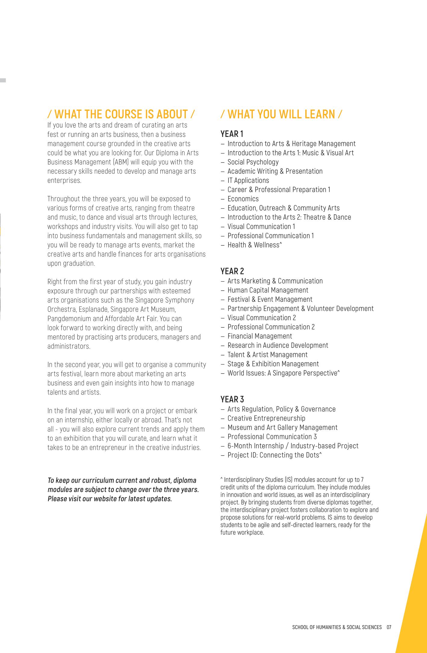 School of Humanities & Social Sciences 2020-09