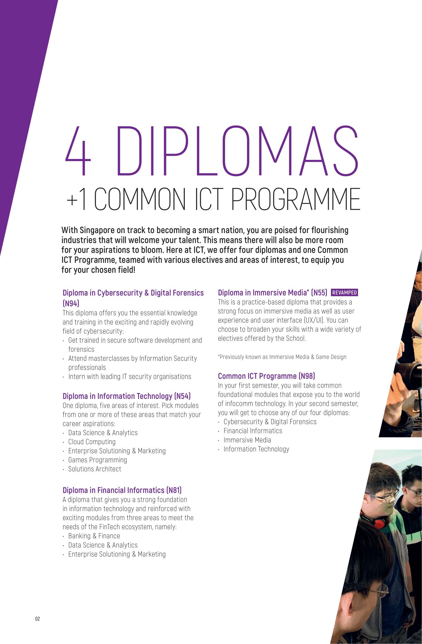 School of Infocomm Technology 2020-4