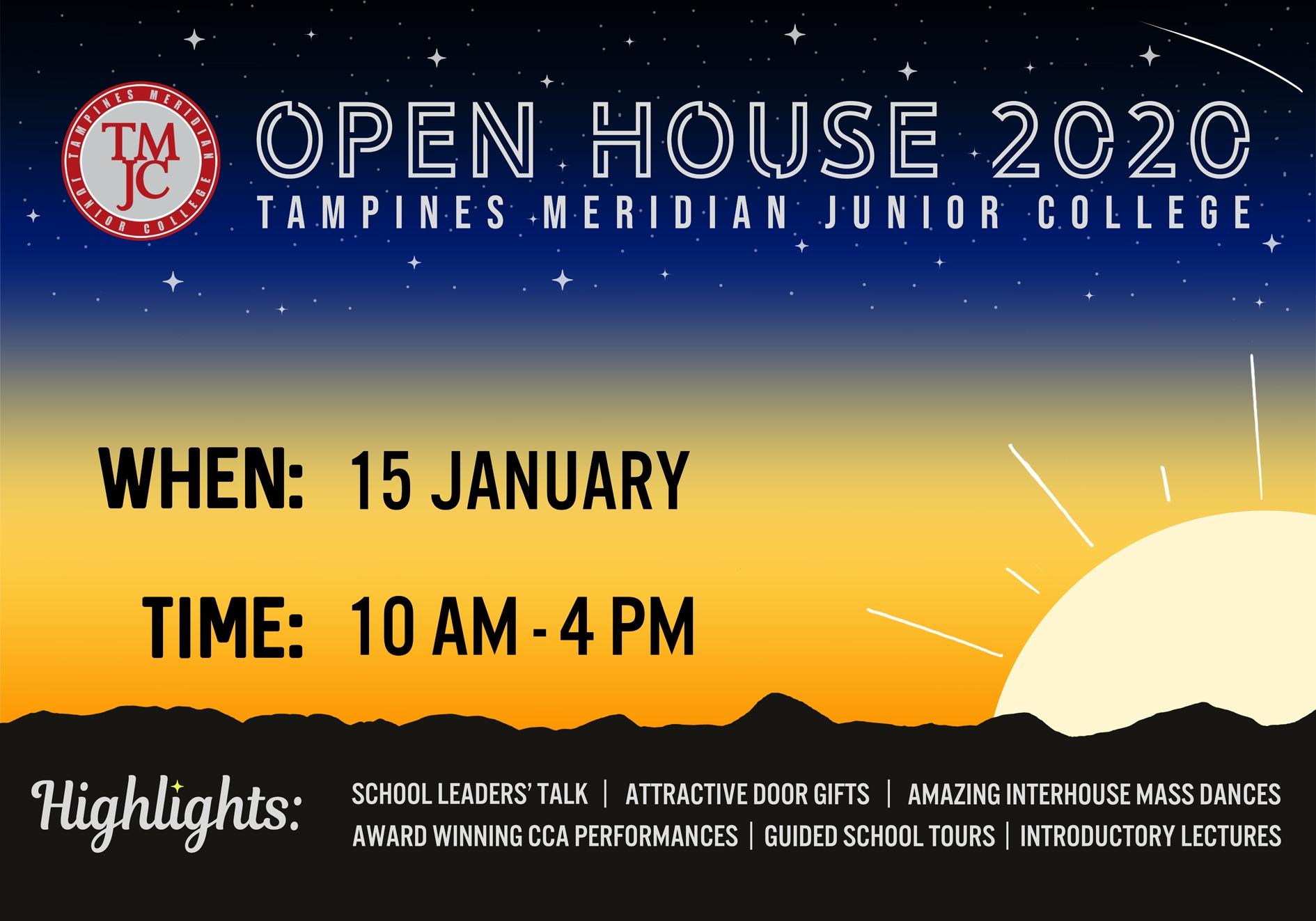 TMJC Open House 2020