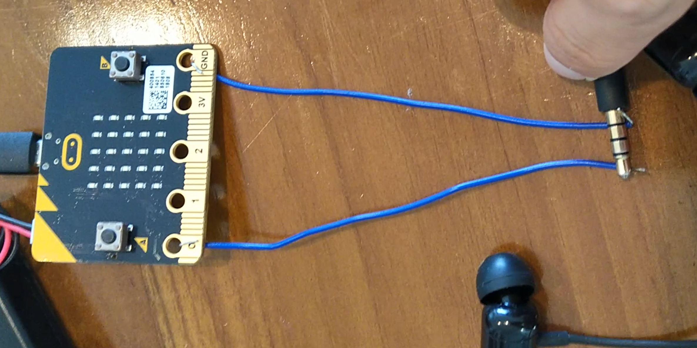 Microbit Sound