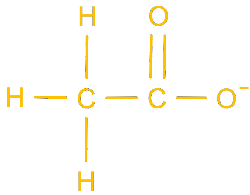 carboxylate ion