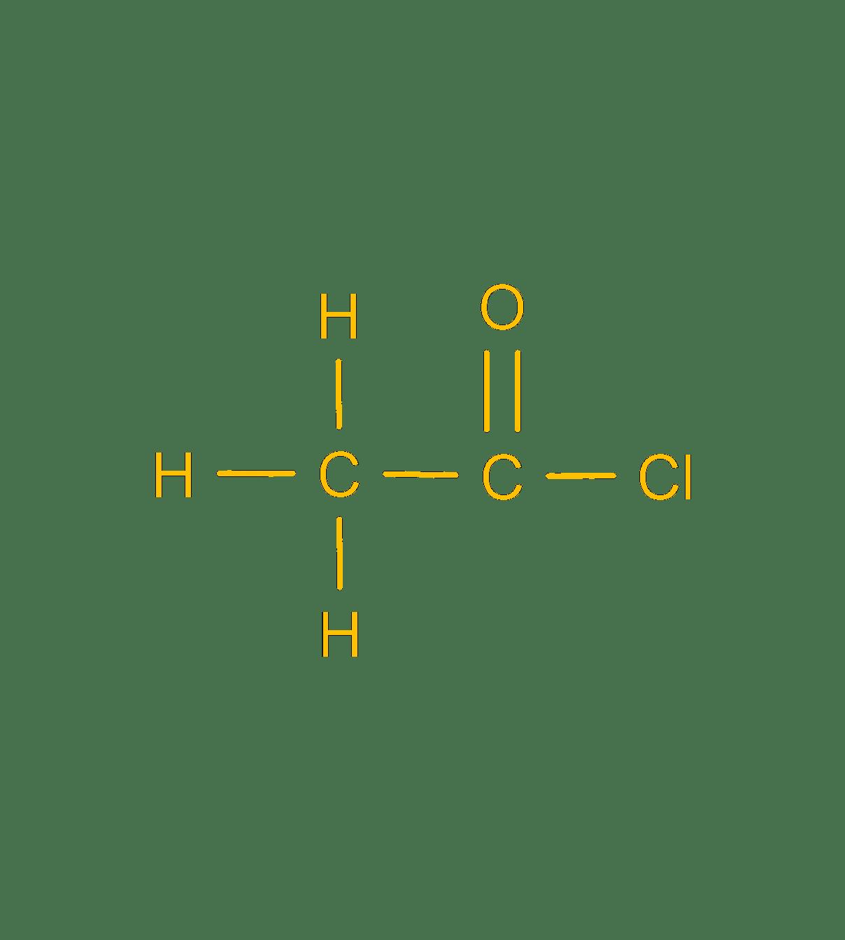 ethanoyl chloride
