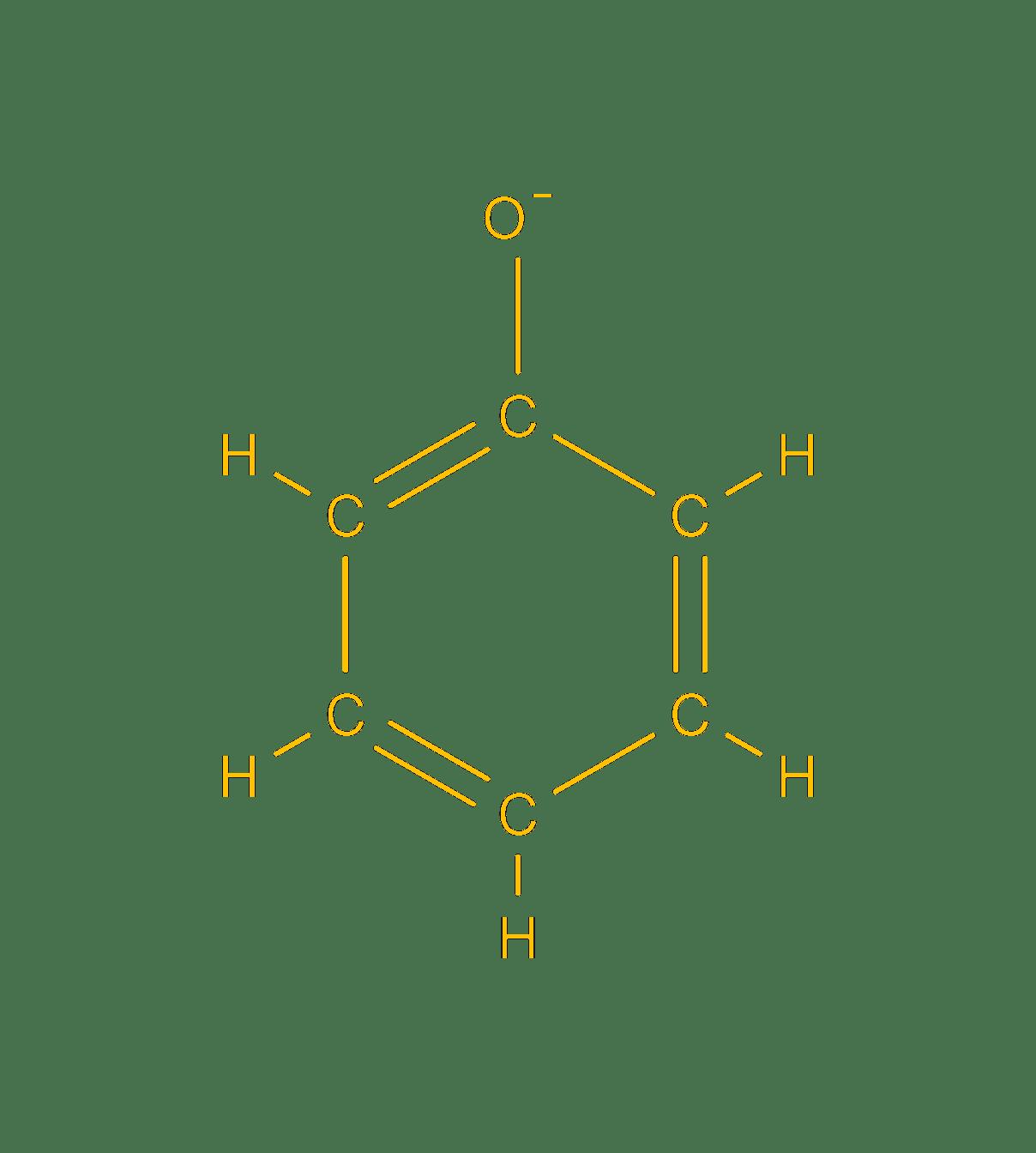 phenoxide anion