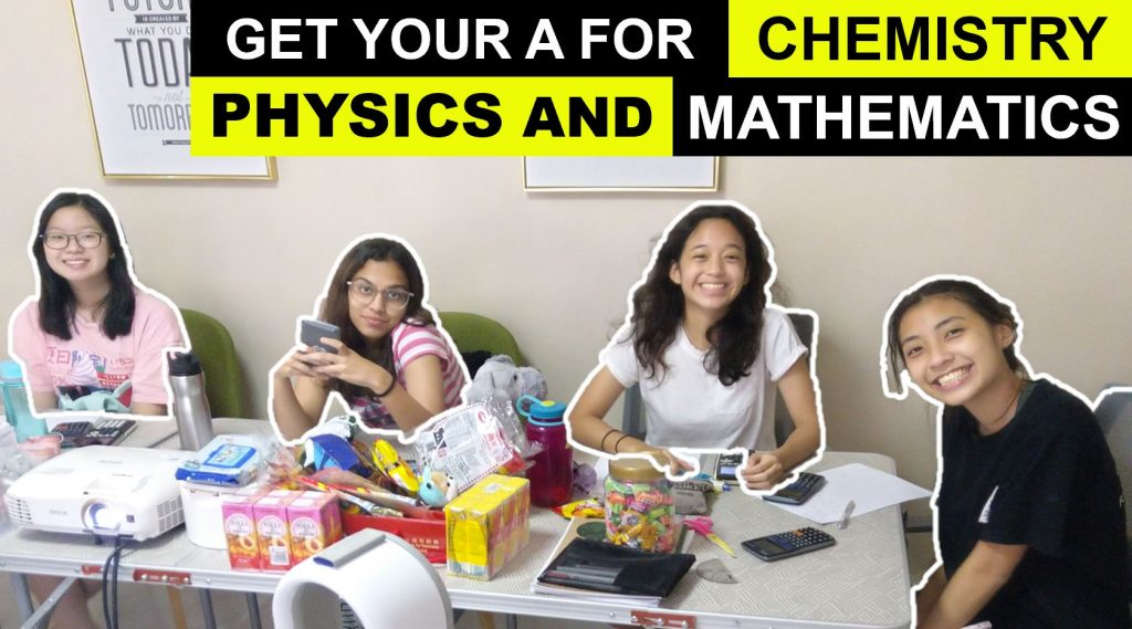 H2 Chemistry H2 Physics H2 Mathematics Group Tuition