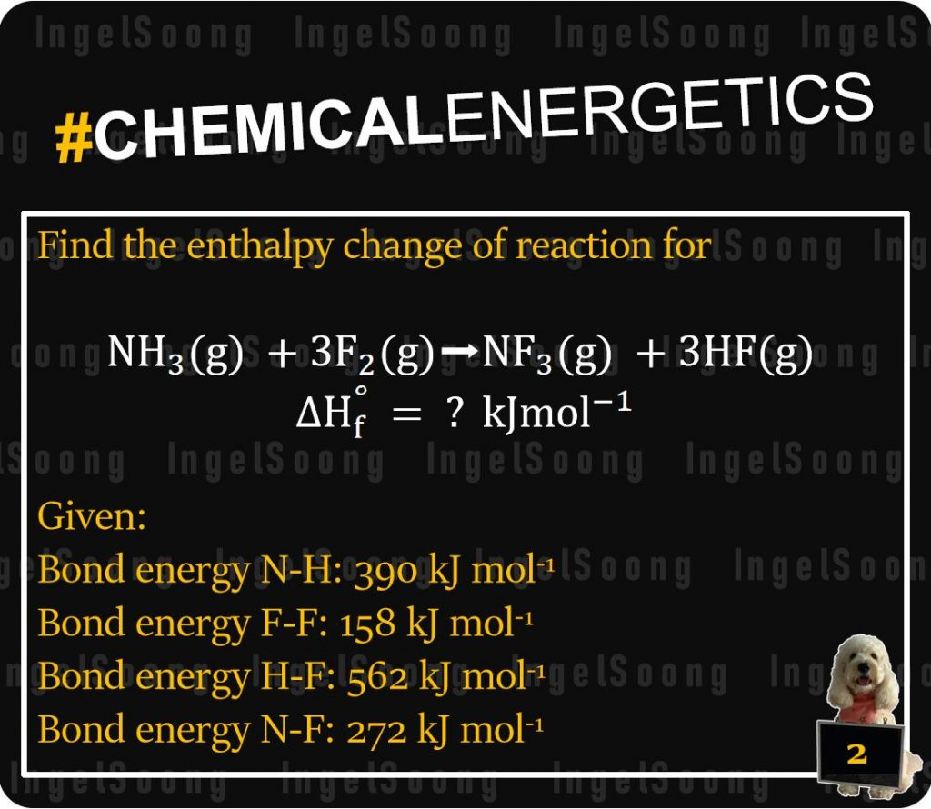 Chemical energetics bond energy 2