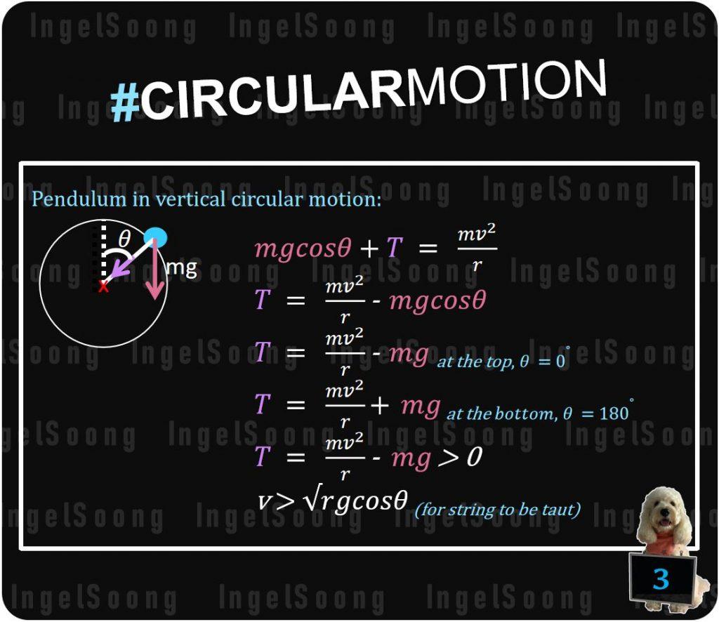 Circular motion summary 3