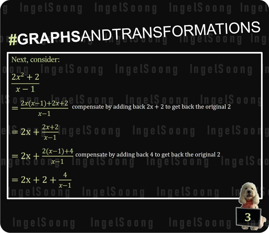 Graphs and Transformations Long Division 3