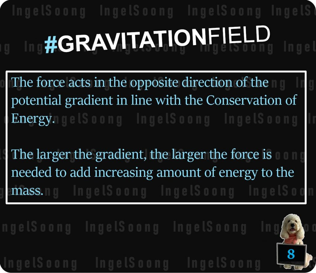 Gravitational field potential gradient 8
