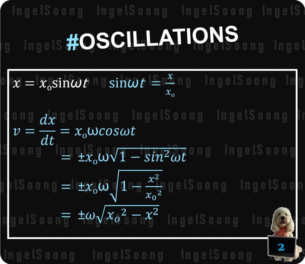Oscillations summary 2