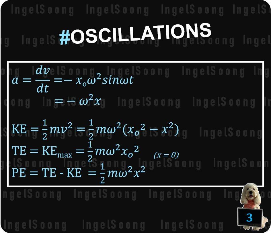 Oscillations summary 3