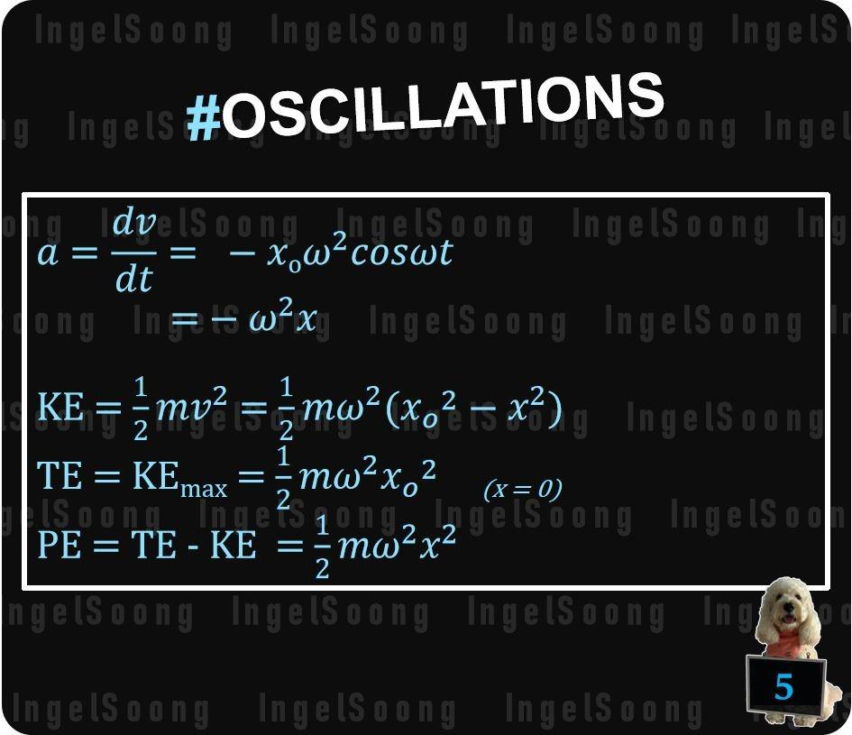 Oscillations summary 5