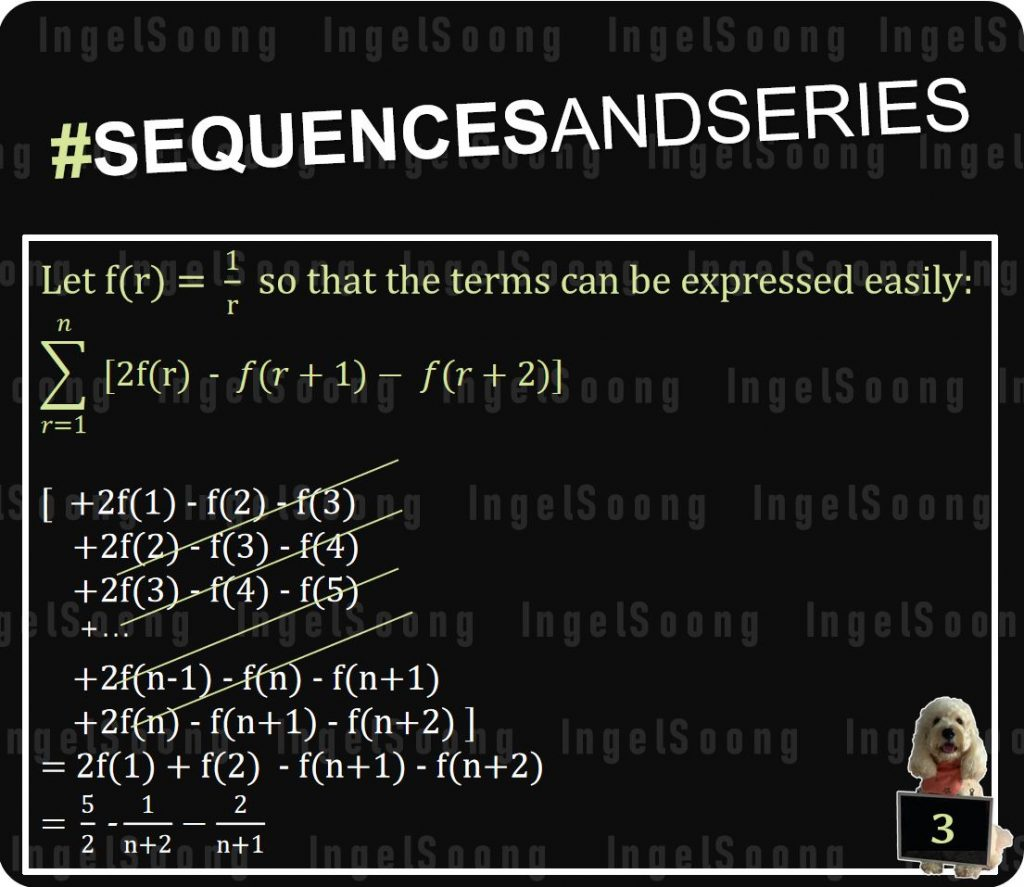 Sequences and series method of differences 2
