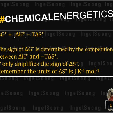 Chemical energetics Gibbs free energy