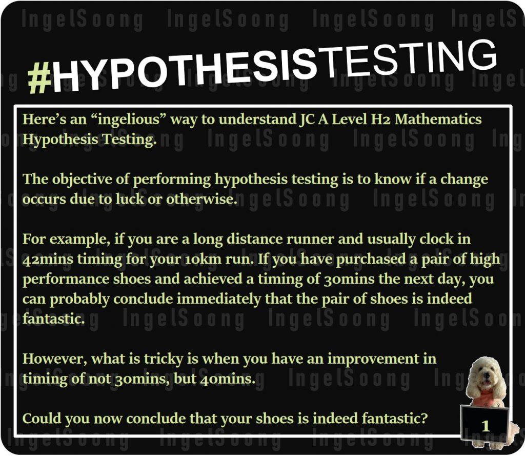Hypothesis testing 1