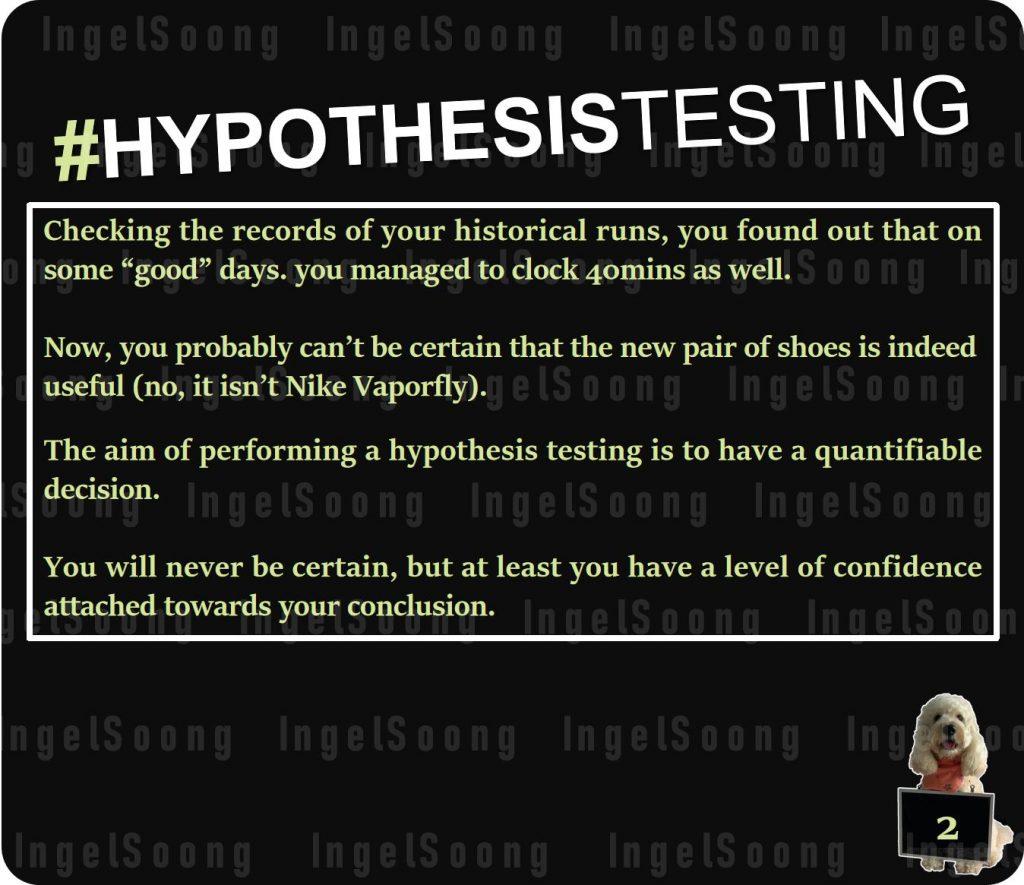 Hypothesis testing 2